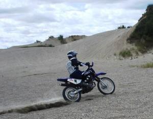 Off-Roading Motorcycle Dirt Biking